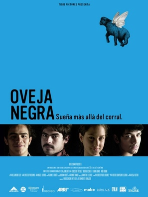 Oveja negra - Mexican Movie Poster (thumbnail)