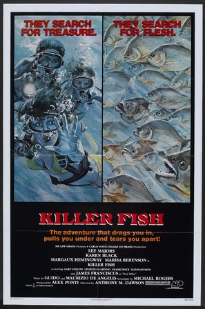 Killer Fish - Movie Poster (thumbnail)