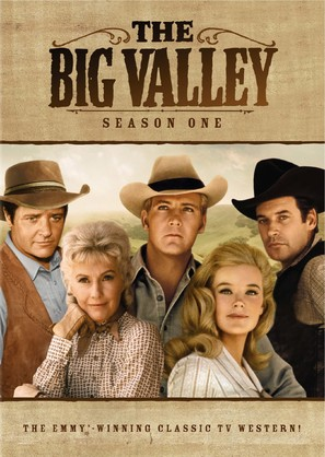 """""""The Big Valley"""" - DVD movie cover (thumbnail)"""