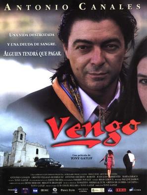 Vengo - Spanish Movie Poster (thumbnail)