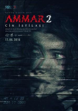 Ammar 2: Cin Istilasi - Turkish Movie Poster (thumbnail)