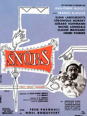 Snobs! - French Movie Poster (thumbnail)
