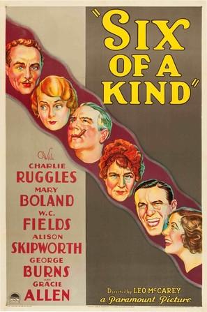 Six of a Kind - Movie Poster (thumbnail)