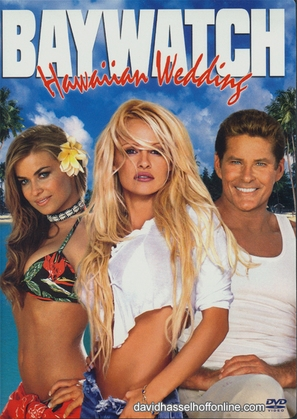Baywatch: Hawaiian Wedding - DVD movie cover (thumbnail)