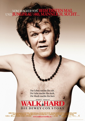 Walk Hard: The Dewey Cox Story - German Movie Poster (thumbnail)