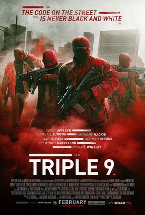 Triple 9 - Movie Poster (thumbnail)