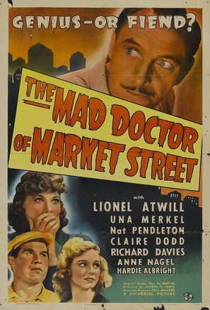 The Mad Doctor of Market Street - Movie Poster (thumbnail)