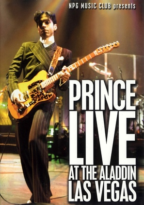 Prince Live at the Aladdin Las Vegas - poster (thumbnail)
