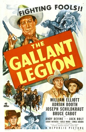 The Gallant Legion - Movie Poster (thumbnail)