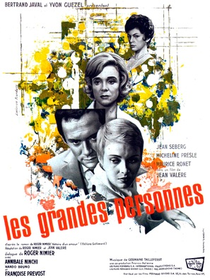 Les grandes personnes - French Movie Poster (thumbnail)