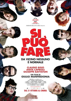 Si può fare - Italian Movie Poster (thumbnail)