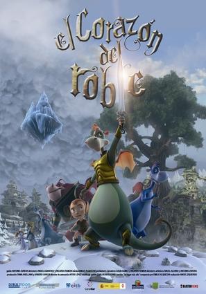El corazón del roble - Spanish Movie Poster (thumbnail)