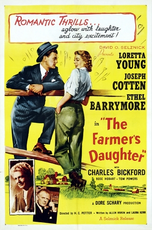 The Farmer's Daughter - Movie Poster (thumbnail)