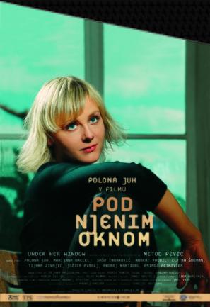 Pod njenim oknom - Slovenian poster (thumbnail)