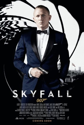 Skyfall - Movie Poster (thumbnail)
