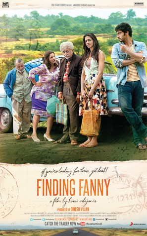 Finding Fanny - Indian Movie Poster (thumbnail)