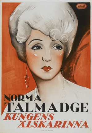 Du Barry, Woman of Passion - Swedish Movie Poster (thumbnail)