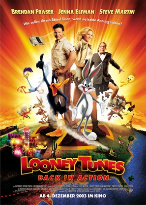 Looney Tunes: Back in Action - German Movie Poster (thumbnail)