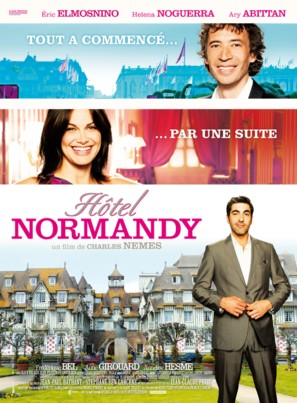 Hôtel Normandy - French Movie Poster (thumbnail)