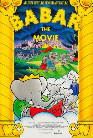 Babar: The Movie - Movie Poster (thumbnail)