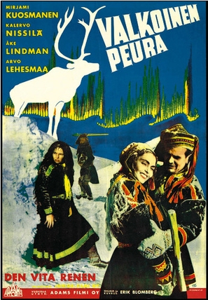 Valkoinen peura - Finnish Movie Poster (thumbnail)