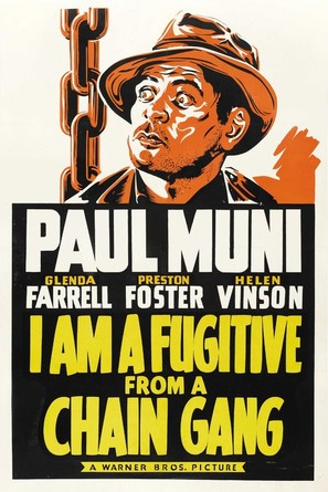 I Am a Fugitive from a Chain Gang - Movie Poster (thumbnail)