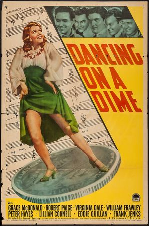 Dancing on a Dime - Movie Poster (thumbnail)