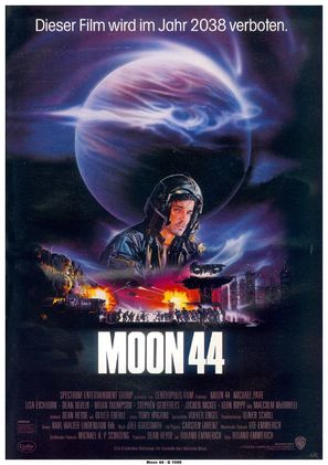 Moon 44 - German Movie Poster (thumbnail)