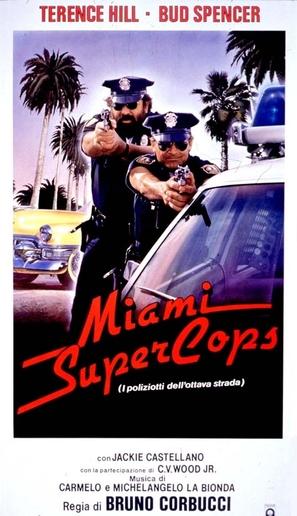 Miami Supercops - Italian Movie Poster (thumbnail)