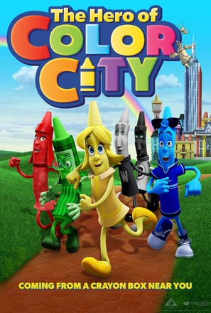 The Hero of Color City - Movie Poster (thumbnail)