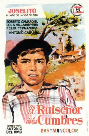 El ruiseñor de las cumbres - Spanish Movie Poster (thumbnail)