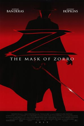 The Mask Of Zorro - Movie Poster (thumbnail)