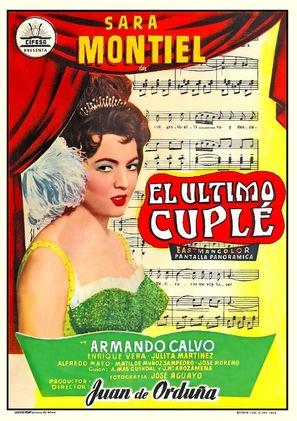 El último cuplé - Spanish Movie Poster (thumbnail)