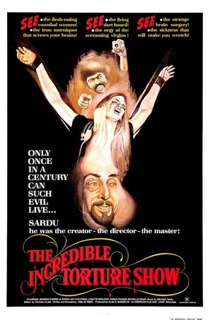 The Incredible Torture Show - Theatrical poster (thumbnail)