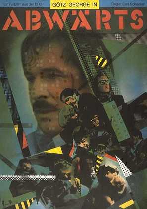 Abwärts - German Movie Cover (thumbnail)
