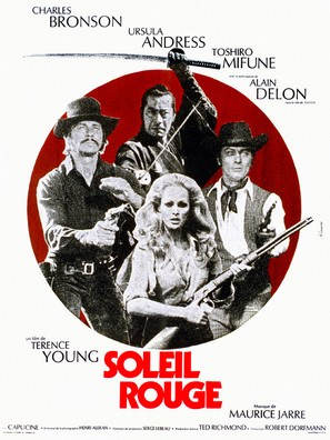Soleil rouge - French Movie Poster (thumbnail)