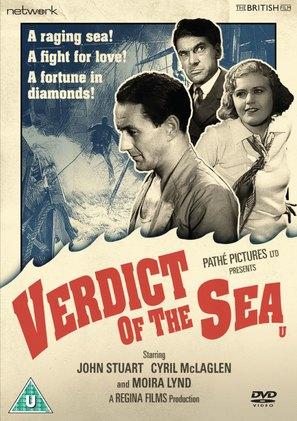 Verdict of the Sea - British DVD movie cover (thumbnail)