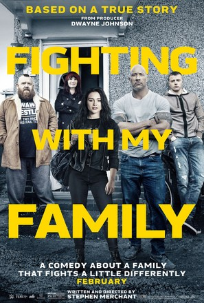 Fighting with My Family - Movie Poster (thumbnail)