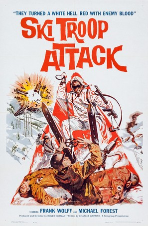 Ski Troop Attack - Movie Poster (thumbnail)