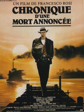 Cronaca di una morte annunciata - French Movie Poster (thumbnail)