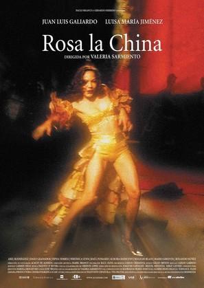 Rosa la china - Spanish Movie Poster (thumbnail)