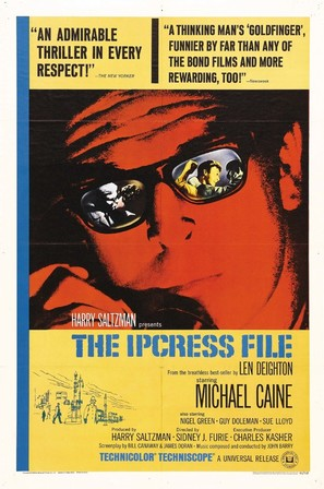 The Ipcress File - Movie Poster (thumbnail)