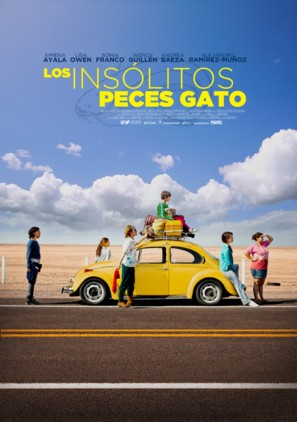 Los insólitos peces gato - Mexican Movie Poster (thumbnail)