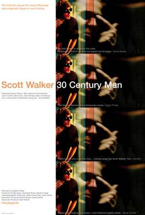 Scott Walker: 30 Century Man - poster (thumbnail)