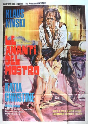 Amanti del mostro, Le - Italian Movie Poster (thumbnail)