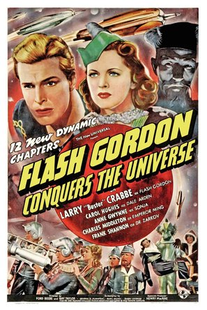 Flash Gordon Conquers the Universe - Movie Poster (thumbnail)