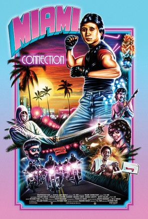 Miami Connection - Re-release poster (thumbnail)