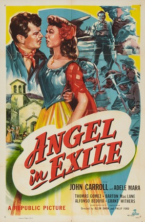 Angel in Exile - Theatrical movie poster (thumbnail)