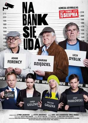 Na bank sie uda - Polish Movie Poster (thumbnail)