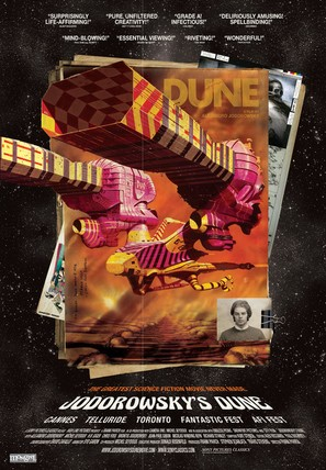 Jodorowsky's Dune - Canadian Movie Poster (thumbnail)